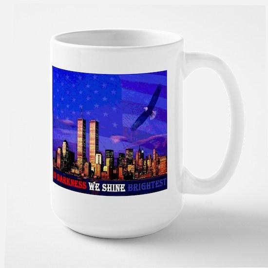 9 11 Memorial Never Forget Mug