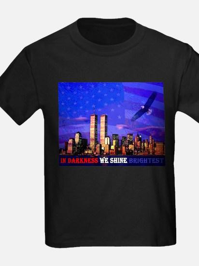 9 11 Memorial Never Forget T-Shirt