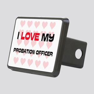 PROBATION-OFFICER64 Rectangular Hitch Cover