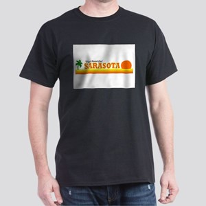 Visit Beautiful Sarasota, Flo Dark T-Shirt