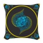 Paths of Color [TBG] Woven Throw Pillow