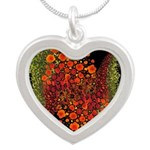 Paths of Color [R.O.G.] Silver Heart Necklace