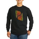 Paths of Color [R.O.G.] Long Sleeve Dark T-Shirt