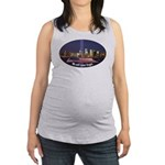 9-11 We Will Never Forget Maternity Tank Top
