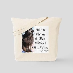 Byron Newf Tote Bag