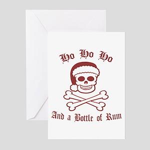 Pirate Santa Greeting Cards (Pk of 10)