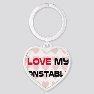 CONSTABLE145 Heart Keychain