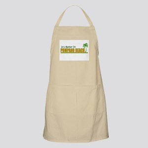 It's Better in Pompano Beach, BBQ Apron
