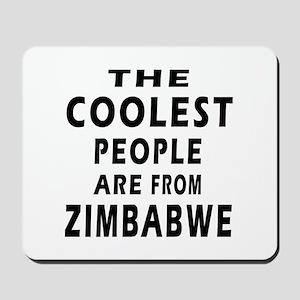 The Coolest Zimbabwe Design Mousepad