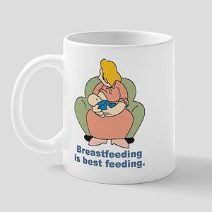 Breast feeding is best feeding Mug