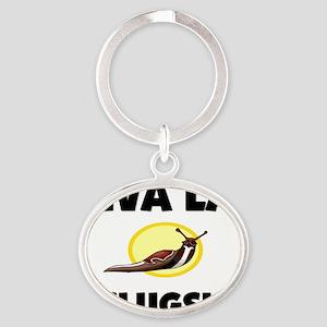 SLUGS3765 Oval Keychain