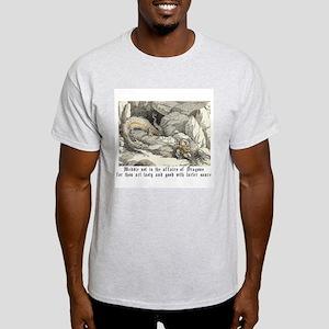 good with tarter sauce Ash Grey T-Shirt