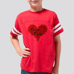 Luscious Lucius Youth Football Shirt