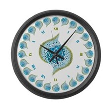 Paths of Color [TBG] Large Wall Clock