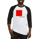 Red Square Baseball Jersey