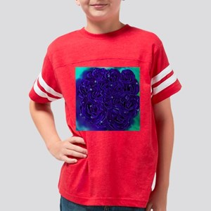 Blue Monday Rendition IV Youth Football Shirt