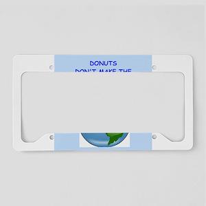 donut License Plate Holder