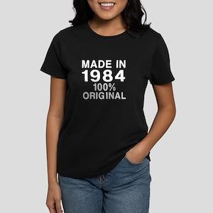 Made In 1984 Women's Dark T-Shirt