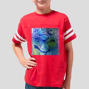 OM on blue ground 003 wb2 Youth Football Shirt