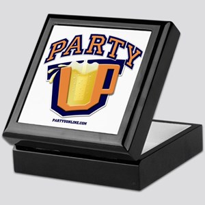 Party U - Drinking Logo Keepsake Box
