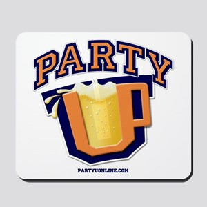 Party U - Drinking Logo Mousepad