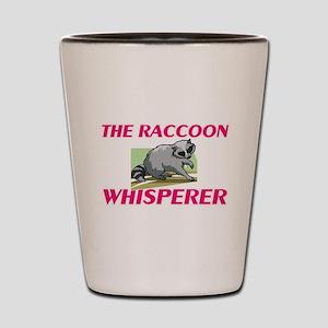The Raccoon Whisperer Shot Glass