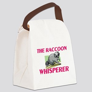 The Raccoon Whisperer Canvas Lunch Bag