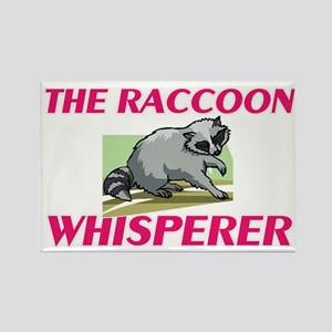 The Raccoon Whisperer Magnets