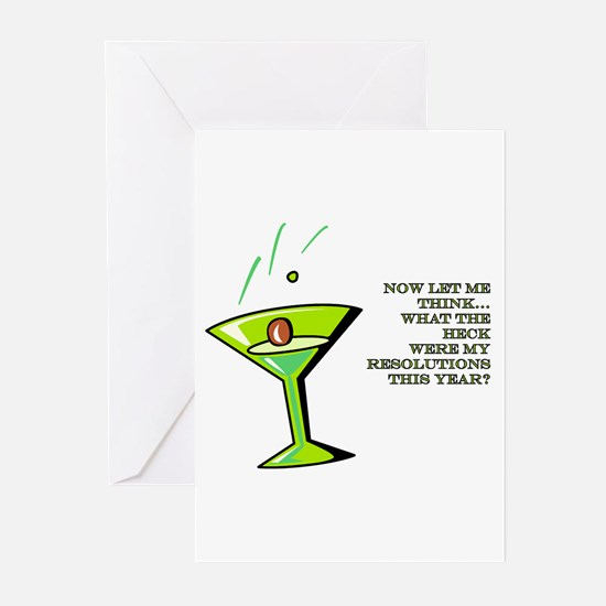 NEW YEAR RESOLUTIONS Greeting Cards (Pk of 10)