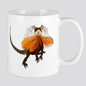 Frilled Neck Lizard Small Mug