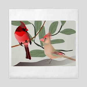Cardinals Queen Duvet