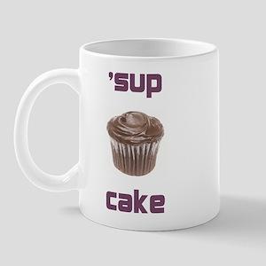 'sup cake mug