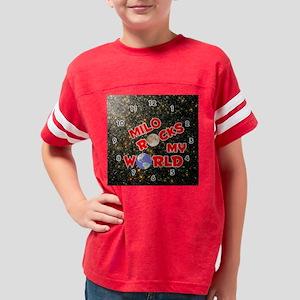 1002SR-Milo Youth Football Shirt