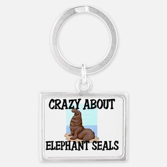 ELEPHANT-SEALS148145 Landscape Keychain
