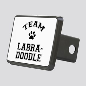 Team Labradoodle Rectangular Hitch Cover