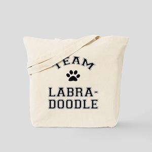 Team Labradoodle Tote Bag
