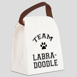 Team Labradoodle Canvas Lunch Bag