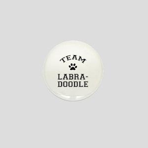 Team Labradoodle Mini Button