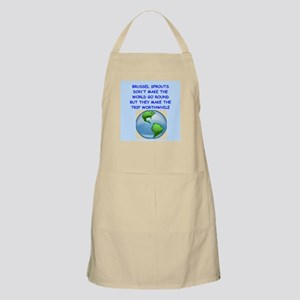 brussel sprouts Apron