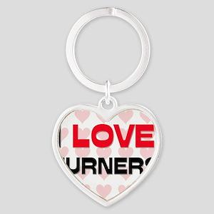 TURNERS17 Heart Keychain