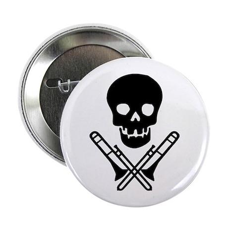 """skull & trombones 2.25"""" button (100 pack)"""