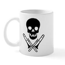 skull & trombones mug