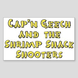 Shrimp Shack Rectangle Sticker