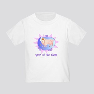 Year of the Sheep 2 Toddler T-Shirt