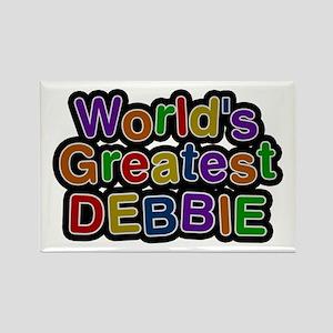World's Greatest Debbie Rectangle Magnet