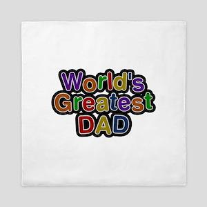 World's Greatest Dad Queen Duvet