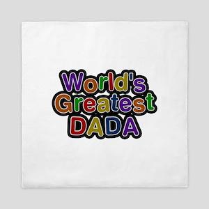 World's Greatest Dada Queen Duvet