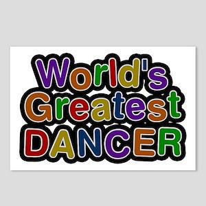 World's Greatest Dancer Postcards 8 Pack