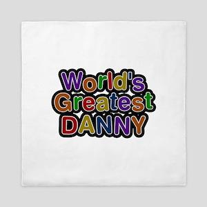 World's Greatest Danny Queen Duvet