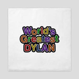 World's Greatest Dylan Queen Duvet